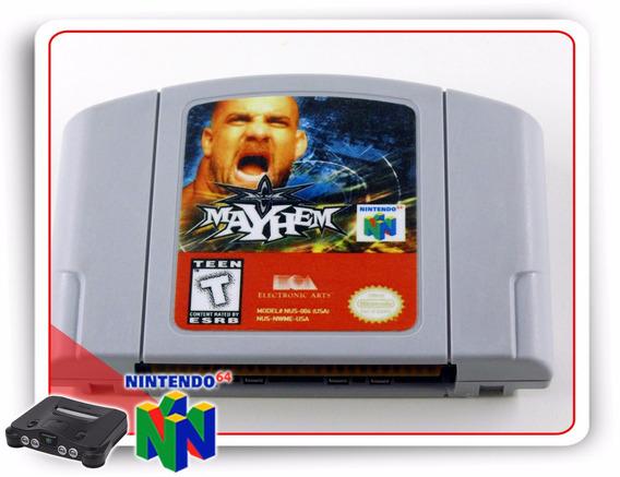 Wcw Mayhem Original Nintendo 64 N64