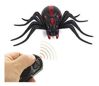 Remote Control Scary Wolf Spider Robot, Fake
