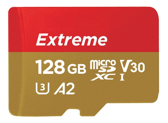 Cartão Memória Micro Sdxc Ultra 160mb/s 128gb Sd Gopro Hero7
