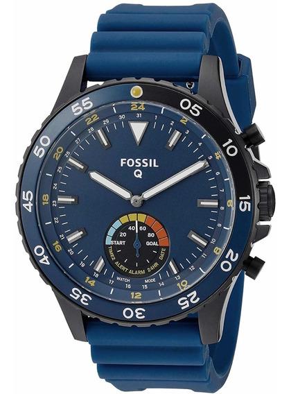 Reloj Híbrido Fósil Ftw1125 Regalo Ideal Para Hombre Moderno
