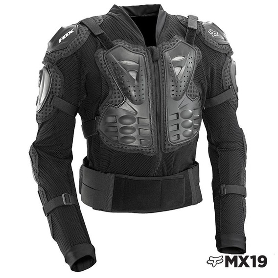 L - Negro - Protector Fox Titan Sport