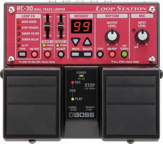 Pedal Looper Boss Rc-30 Loop Station Nuevo (mxr Nux Vox)
