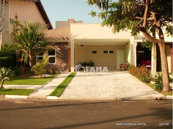 Casa Com 3 Dormitórios Para Alugar, 160 M² Por R$ 2.400,00/mês - Condomínio Campos Do Conde - Paulínia/sp - Ca1158