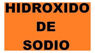 Hidróxido De Sodio En Perlas 99 % X 1 Kilo
