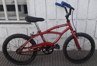 Bicicleta Playera Spider-man De Niños Rodado 16 Usada Joya