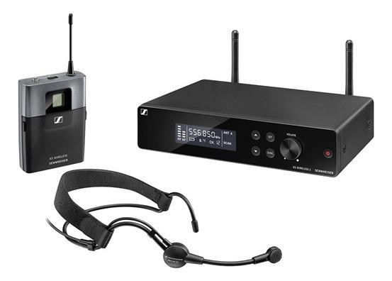 Microfone Sem Fio Auricular Headmic Set Xsw 2-me3 Sennheiser