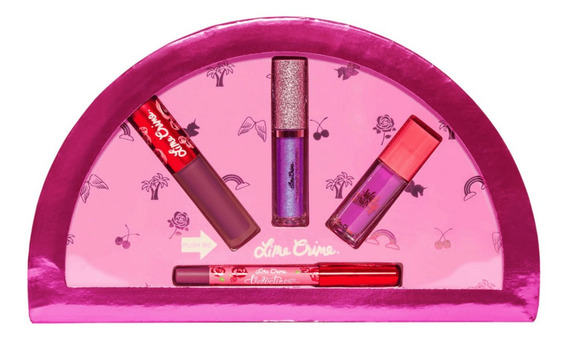 Lime Crime Best Of Lips Mauves Set - Mini Lip Set