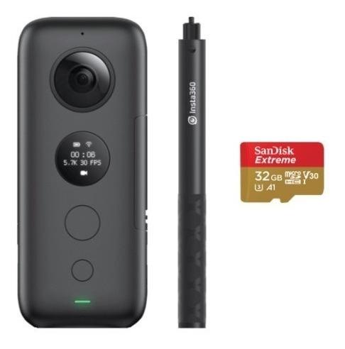Camera Insta360 One X + 64gb + Stick - Pronta Entrega