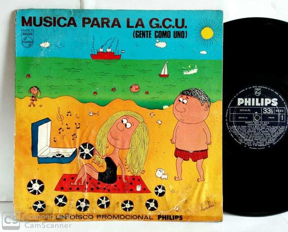 Vinilo Música Para La Gcu Landrú Left Banke J. Hallyday 1966