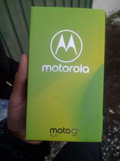 Celular Moto G6 Play Motorola Tela 5,7 32gb + Cartão 32gb