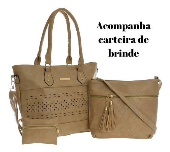 Bolsas Femininas Com Porta Moedas Promoção Imperdível Moda