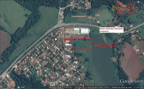 Terreno Industrial À Venda, Sítio Da Moenda, Itatiba - Te0480. - Te0480
