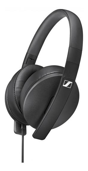 Fone De Ouvido Headphone Hd300 Sennheiser Black Linha Over-ear