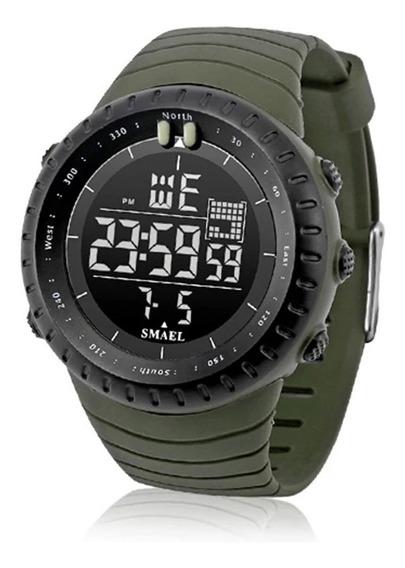 Relógio Smael 1237 Digital Militar Prova D