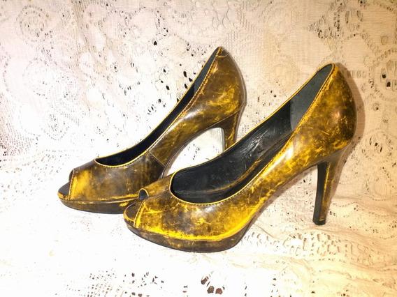 Zapatos Urbanos Tacos Altos Importados