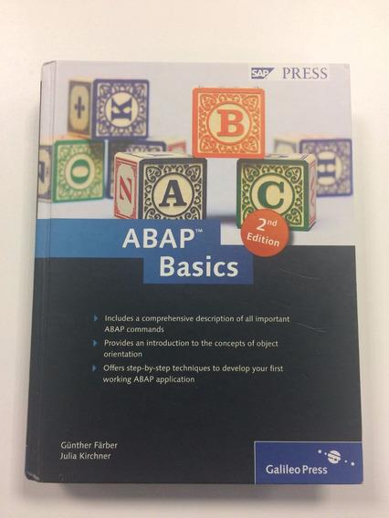 Livro Abap Basics Oficial Da Sap Press (importado)