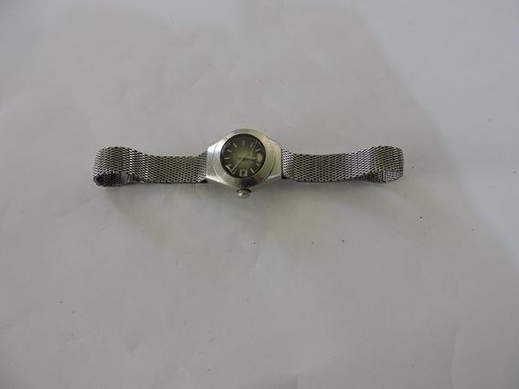 Relógio Orient Automático Antigo Funciona C/ Defeito Vja Vid