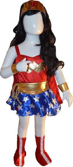 Disfraz Inspirado En La Mujer Maravilla