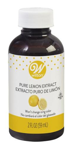 Imagen 1 de 4 de Extracto Puro De Limon Marca Wilton 59ml