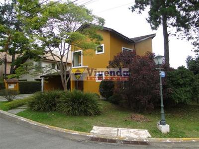 Casa De Condomínio Para Locação No Bairro Aldeia Da Serra Em Barueri - Cod: As10314 - As10314