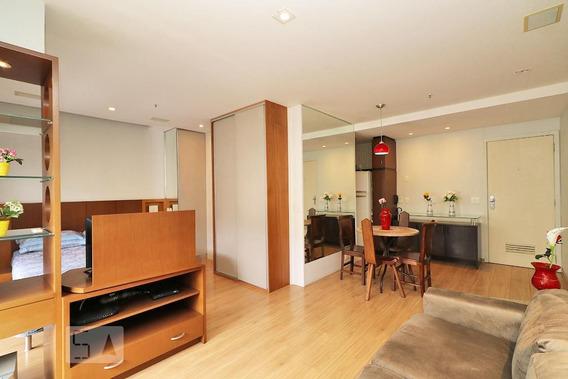 Apartamento No 6º Andar Mobiliado Com 1 Dormitório E 1 Garagem - Id: 892952692 - 252692