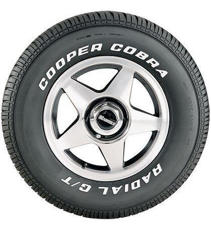 Pneu 245/60r15 Cooper Cobra Radial G/t 100t Letras Brancas