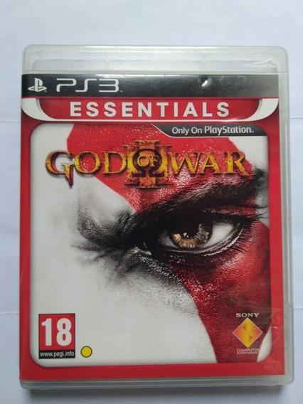 Jogo God Of War 3 Essentials Pt/ Portugal Raro Física R$125