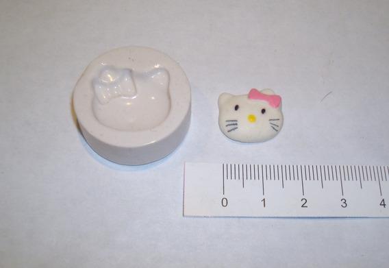 Moldes De Caucho De Silicona Kitty Para Porcelana Fria