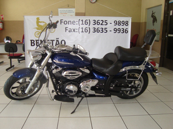 Yamaha Xvs 950 Midnight Star Azul 2012
