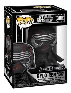 Funko Pop! Star Wars - Kylo Ren #308 Con Luces Y Sonido