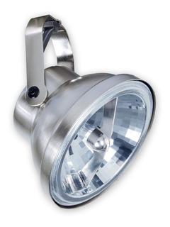 Artefacto Cabezal Ar111 Movil Zocalo Gu10 Aluminio