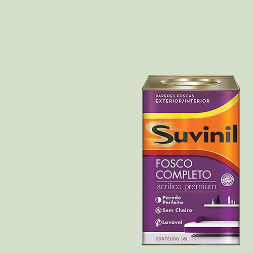 Tinta Acrilica Fosca Premium Suvinil Caminho Do Lago 18lts.