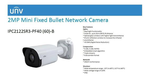 Camera Ip Ir 2mp Unv - Ipc2122lr3-pf40 - Promoção