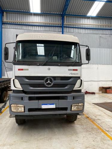 Mercedes-benz Axor 4144 Traçado Caçamba Meia Cana