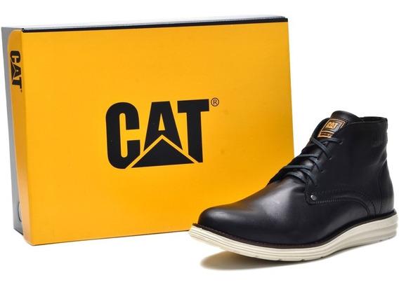 Novo Modelo Sapato Casual Caterpillar Couro Legítimo