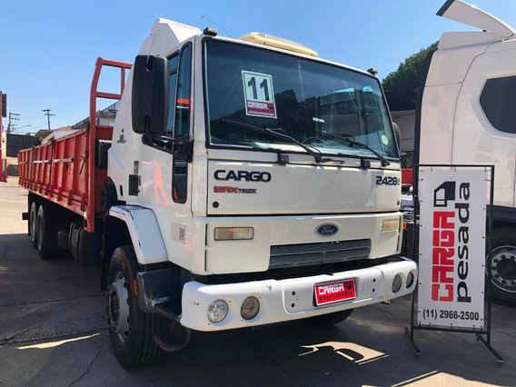 Ford Cargo 2428 6x2 Trucado Carroceria = Vw 24250 Vm 260
