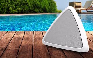 Ion Cornerstone Glow Parlante Bluetooth Para Exterior