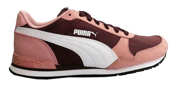 Zapatillas Puma St Runner V2nl Adp Bor/ros De Mujer