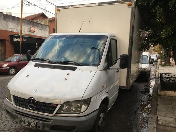 Mercedes Benz Sprinter 413 Dual 4025 Con Caja Paquetera 24m3