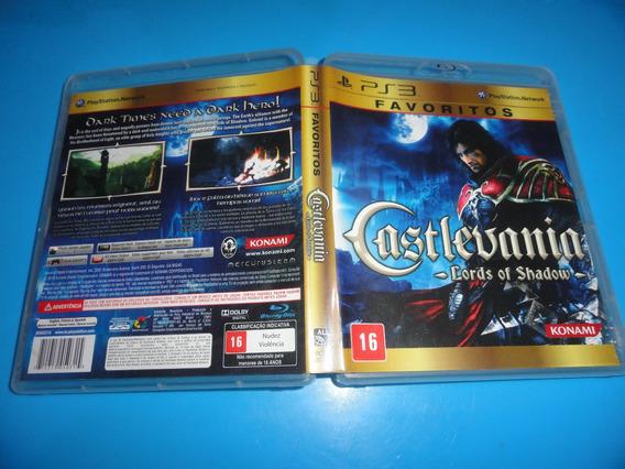 Castlevania Lords Of Shadow Ps3 Midia Fisica Coleção
