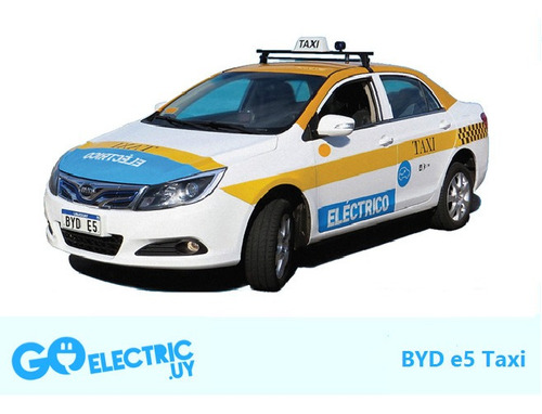 Chapa Para Taxi Eléctrico Imm