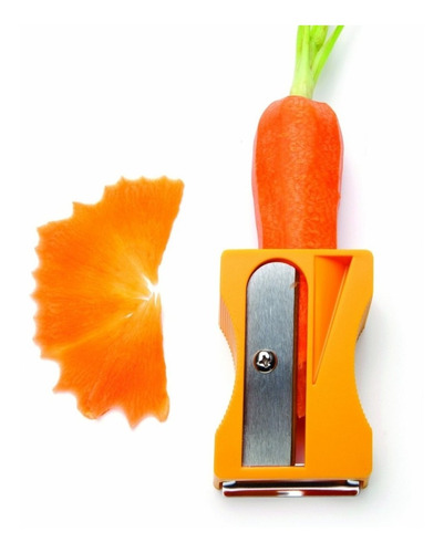 ¡ Pelador Sacapuntas Gigante Zanahoria Verduras Pepino !!