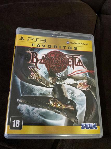 Bayonetta Ps3 Midia Fisica