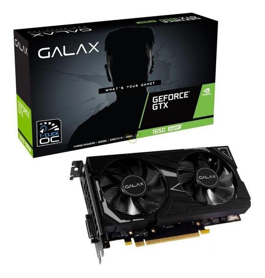 Placa de vídeo Nvidia Galax GeForce GTX 16 Series GTX 1650 SUPER 65SQL8DS61EX 4GB