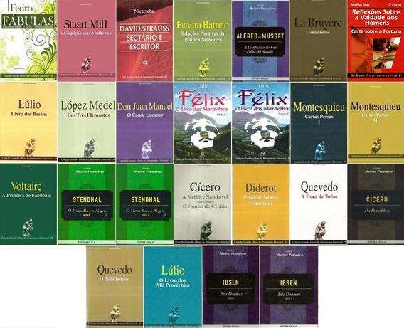 Lote Com 25 Livros Filosofia Sociologia Pensadores Promoção
