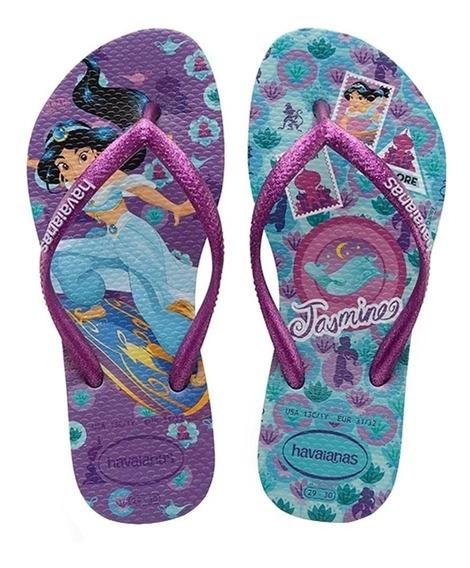 Havaianas Meninas Slims Princess Jasmine