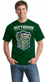 Camiseta Sonserina Harry Potter Slytherin Camisa
