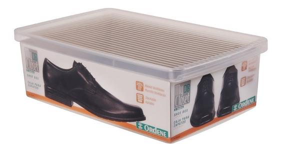 Caixa Organizadora De Sapatos Tênis Ordene Grand Empilhável