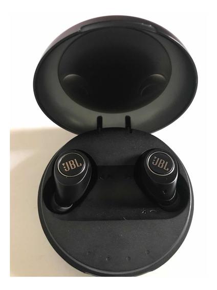 Fone Intra Auricular Jbl Free X Preto Sem Fio.
