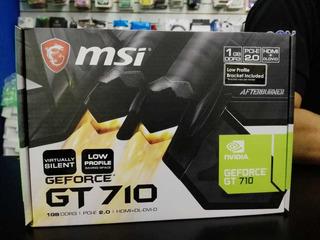 Tarjeta De Video Msi 210 1gb Gt710 1gb Gt710 2gb Gtx1050 2b